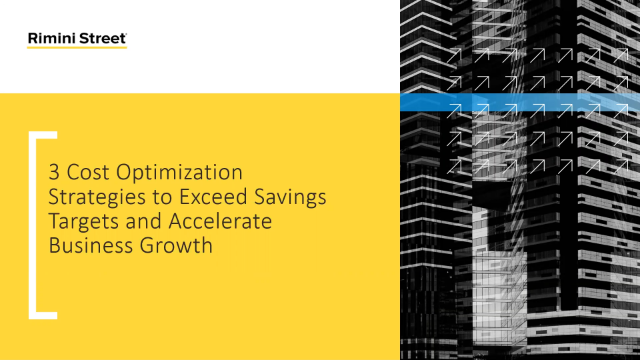 3 Cost Optimization Strategies to Exceed Savings Targets and Accelerate Growth