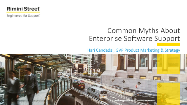 Common Myths You May Hear about ERP Support