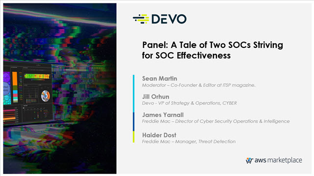 A Tale of Two SOCs Striving for SOC Effectiveness