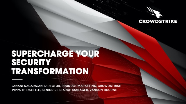Supercharge Your Security Transformation