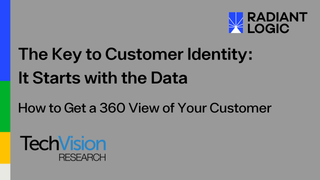 The Key to Customer Identity: It Starts with the Data