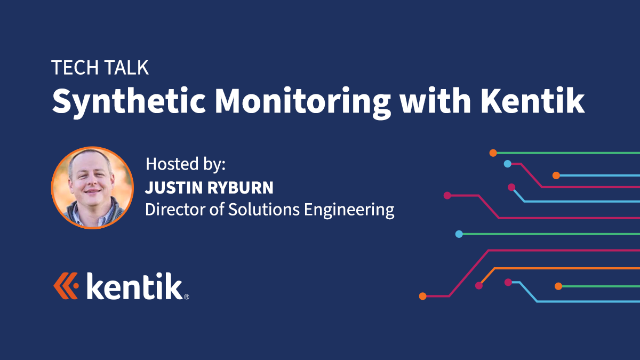 Synthetic Monitoring with Kentik