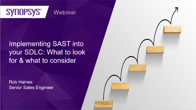 Implementing SAST into your SDLC: What to look for & what to consider