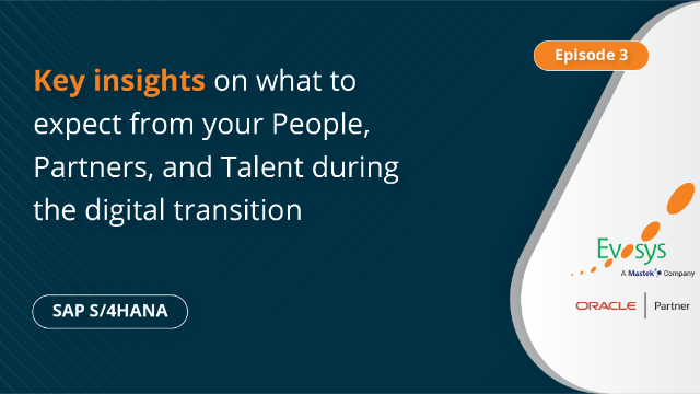 Ep 3 Key Insights on People, Partners, and Talent during the Digital Transition