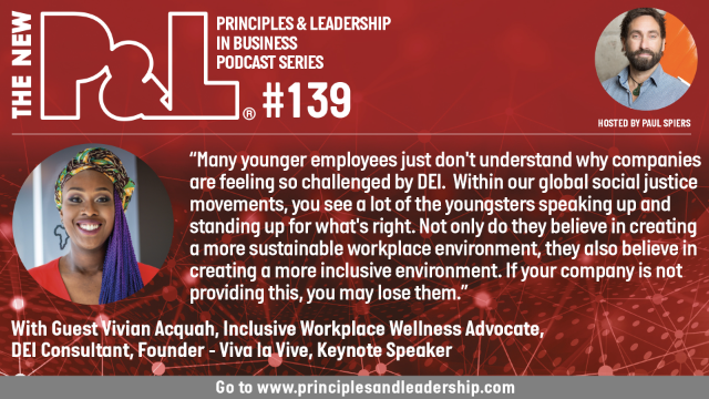 The New P&L speaks to Vivian Acquah-Workplace Wellness Advocate & DEI Consultant
