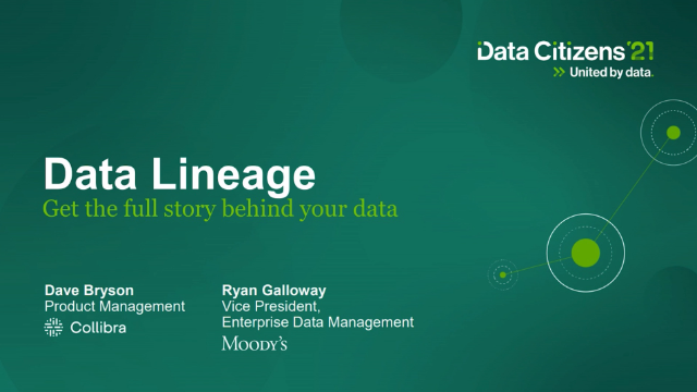 Data lineage: get the full story behind your data