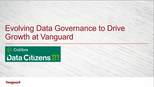 Evolving data governance to drive growth at Vanguard