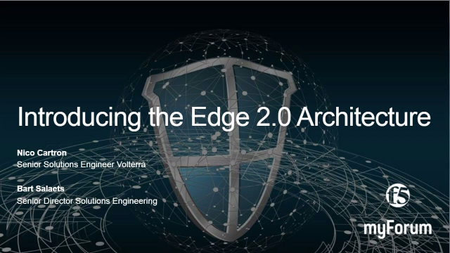 Introducing the Edge 2.0 Architecture