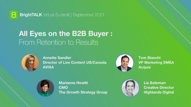 All Eyes on the B2B Buyer: From Retention to Results