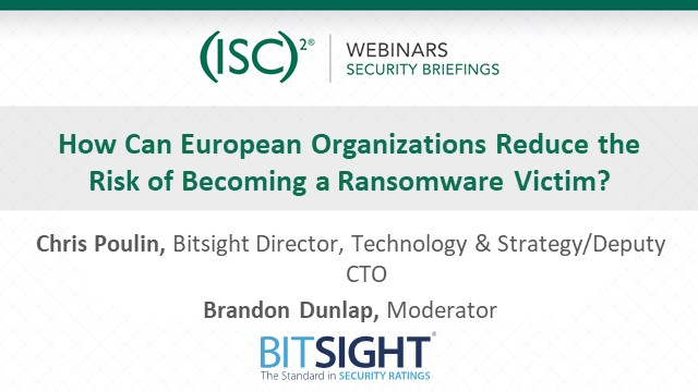 How Can European Organizations Reduce the Risk of Becoming a Ransomware Victim?
