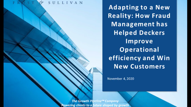 How Fraud Management Has Helped Deckers Improve Efficiency and Win New Customers