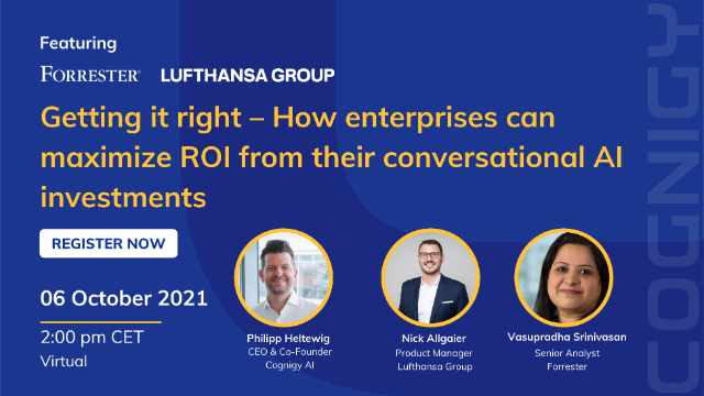 How Enterprises Can Maximize ROI from Conversational AI Investments