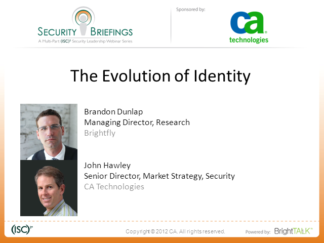 Identity is the New Perimeter Part I -The Evolution of Identity