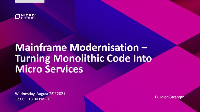 Turning Monolithic Code Into Micro Services