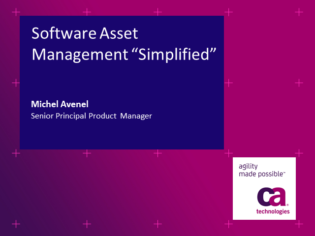 Software Asset Management Simplified