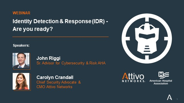 Identity Detection and Response (IDR) – Are you ready?