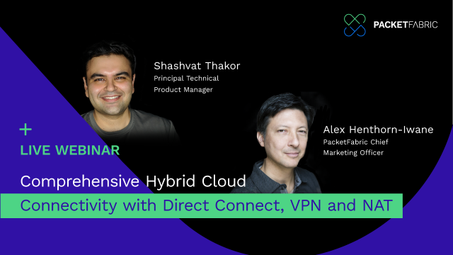 Comprehensive Hybrid Cloud Connectivity with Direct Connect, VPN and NAT