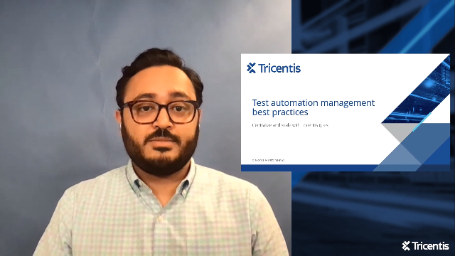 Test automation best practice: Centralize and scale with Tricentis qTest