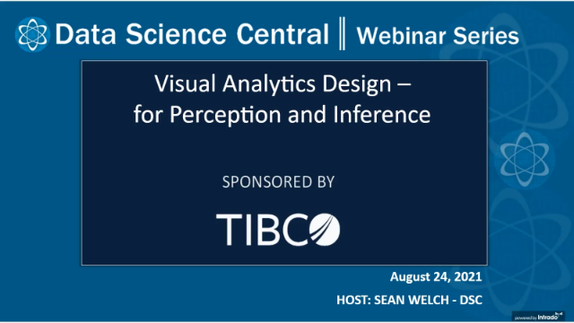 Visual Analytics Design - for Perception and Inference