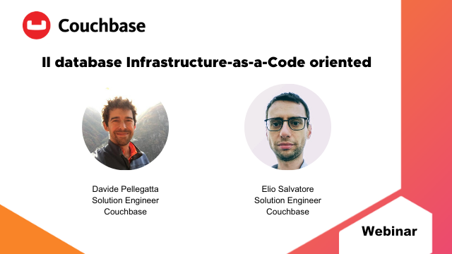 Couchbase: il database Infrastructure-as-a-Code oriented