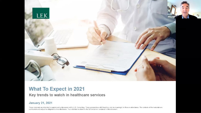 Healthcare: What To Expect in 2021