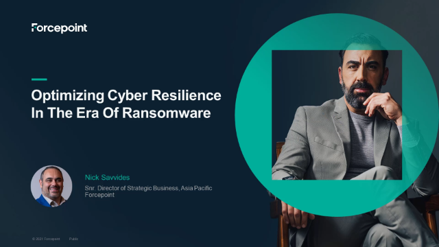 Optimizing Cyber Resilience In The Era Of Ransomware.