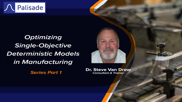 Optimizing Single-Objective Deterministic Models in Manufacturing