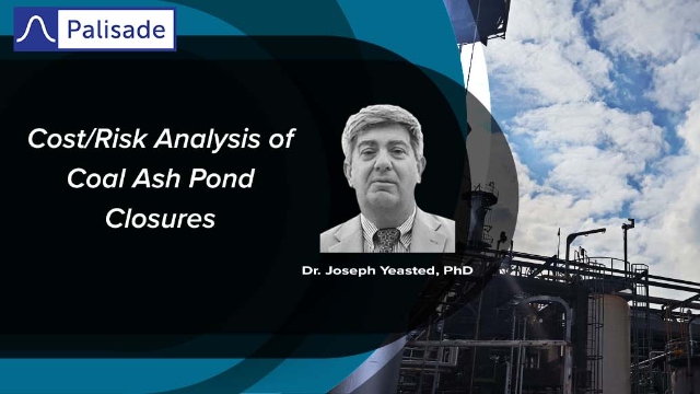 Cost/Risk Analysis of Coal Ash Pond Closures