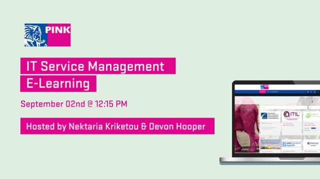 IT Service Management - E-Learning