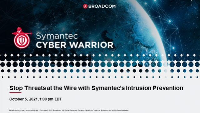 Stop Threats At the Wire with Symantec Intrusion Prevention