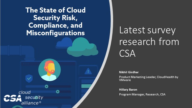 The State of Cloud Security Risk, Compliance, and Misconfigurations