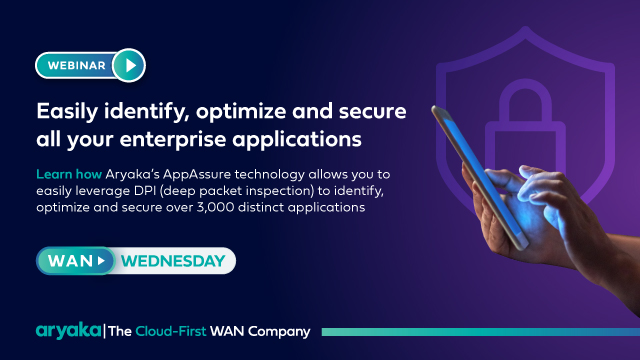 WAN Wednesday   Easily identify, optimize and secure enterprise applications
