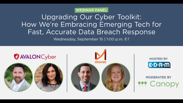 How We're Embracing Emerging Tech for Fast, Accurate Data Breach Response