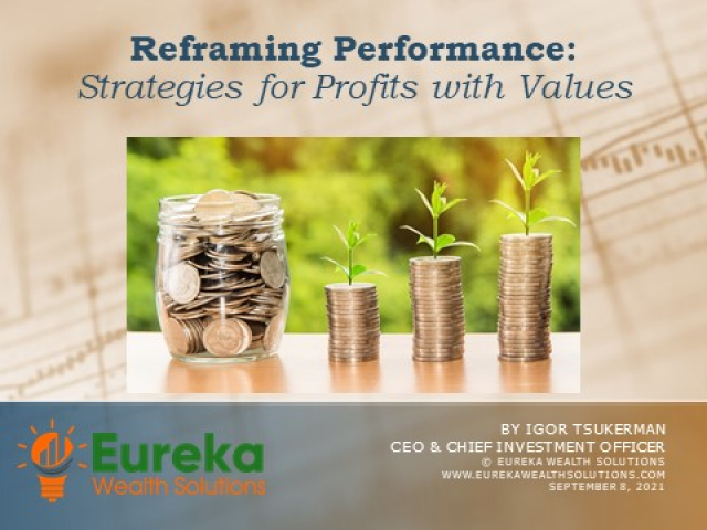 Reframing Performance:  Strategies for Profits with Values