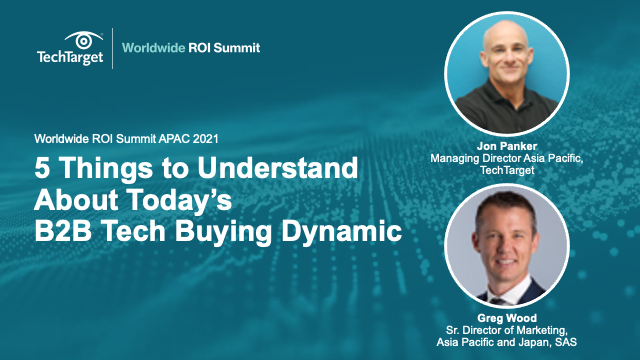 5 Things to Understand About Today's B2B Tech Buying Dynamic