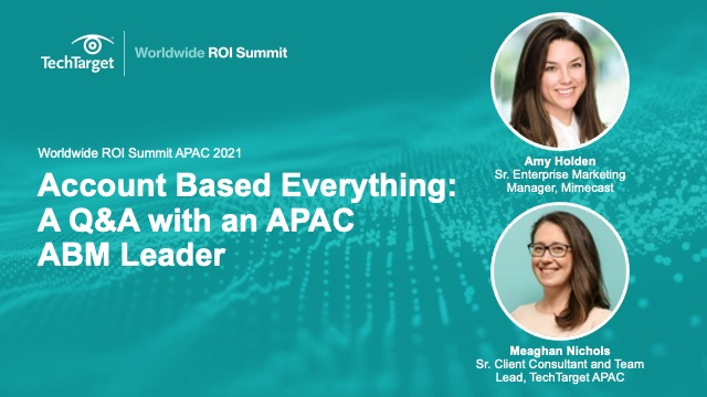Account Based Everything: A Q&A with an APAC ABM Leader