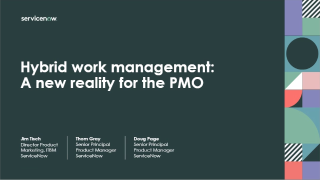Hybrid work management: A new reality for the PMO