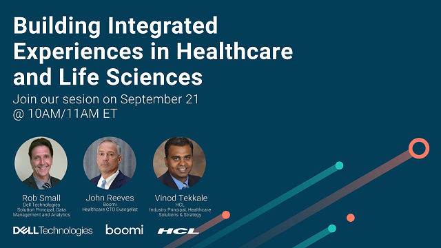 Building Integrated Experiences in Healthcare and Life Sciences