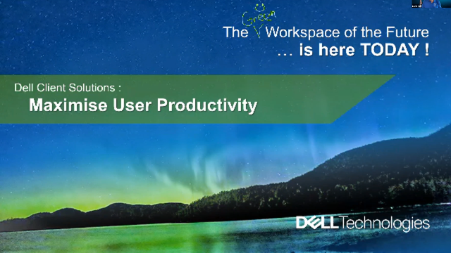 Dell Client Solutions – Maximise User Productivity
