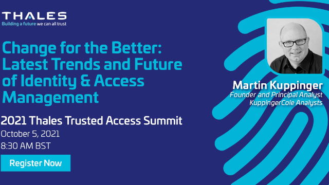 Change for the Better: Latest Trends and Future of Identity & Access Management