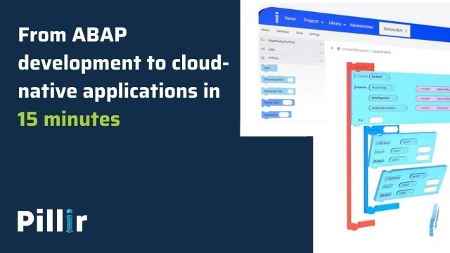 Demo: From ABAP development to modern, cloud-native applications in 15 minutes