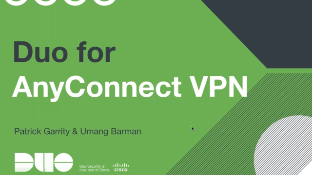 Learn How Duo Can Secure Your Cisco AnyConnect VPN
