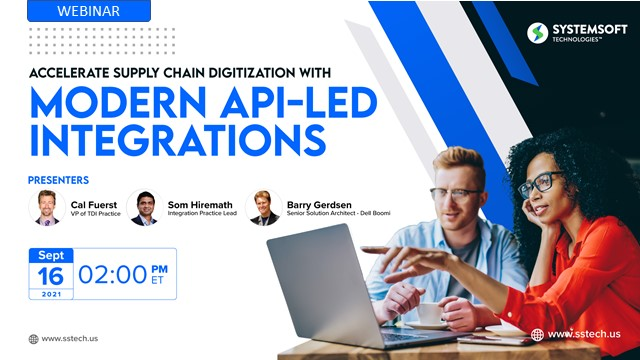Accelerate Supply Chain Digitization with Modern API-Led Integrations