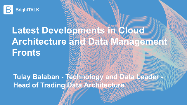 Latest Developments in Cloud Architecture and Data Management Fronts