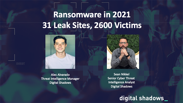 Ransomware in 2021