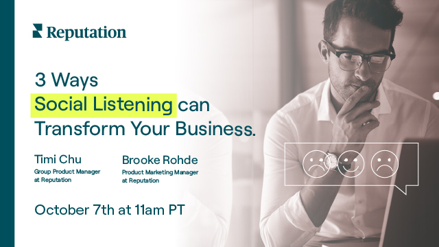 3 Ways Social Listening can Transform Your Business