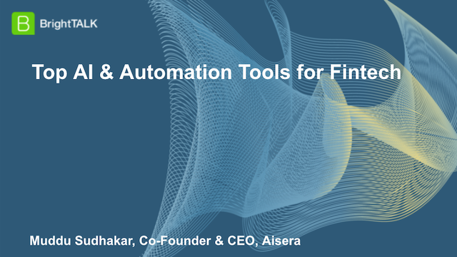 Top AI & Automation Tools for Fintech