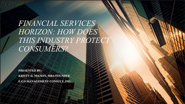 Financial Services' Horizon:  Innovation and digital landscape for consumers
