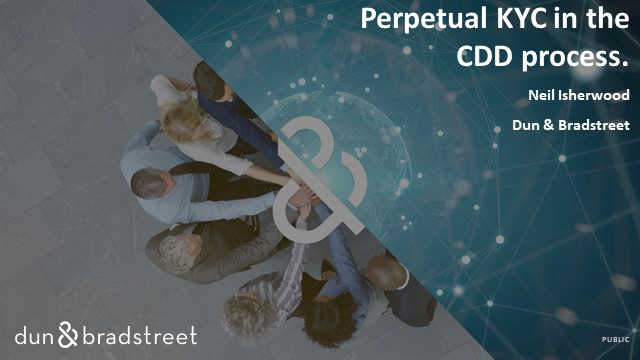 Perpetual KYC in the Customer Due Diligence Process