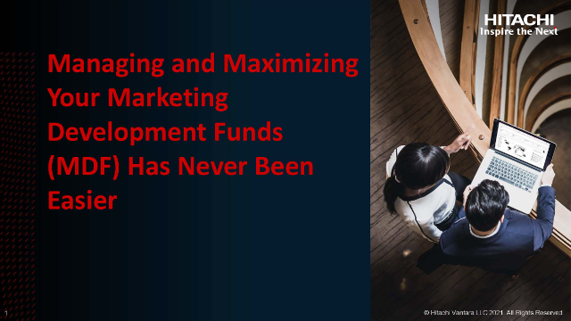 Managing and Maximizing Your Marketing Development Funds Has Never Been Easier